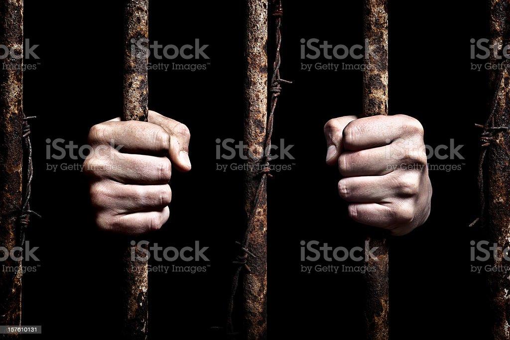 Prisoner XXXL royalty-free stock photo