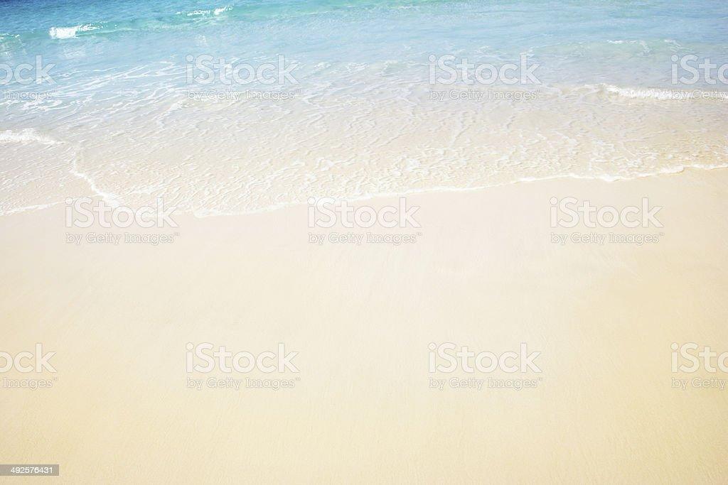 Pristine Beach stock photo