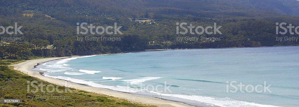 pristine beach royalty-free stock photo