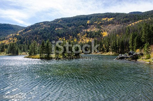 Pristine Lake, Officer's Gulch in the Colorado Rocky Mountains