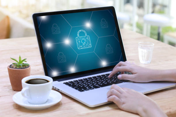 privacy access login performance identification password passcode and privacy - privacy policy stock photos and pictures
