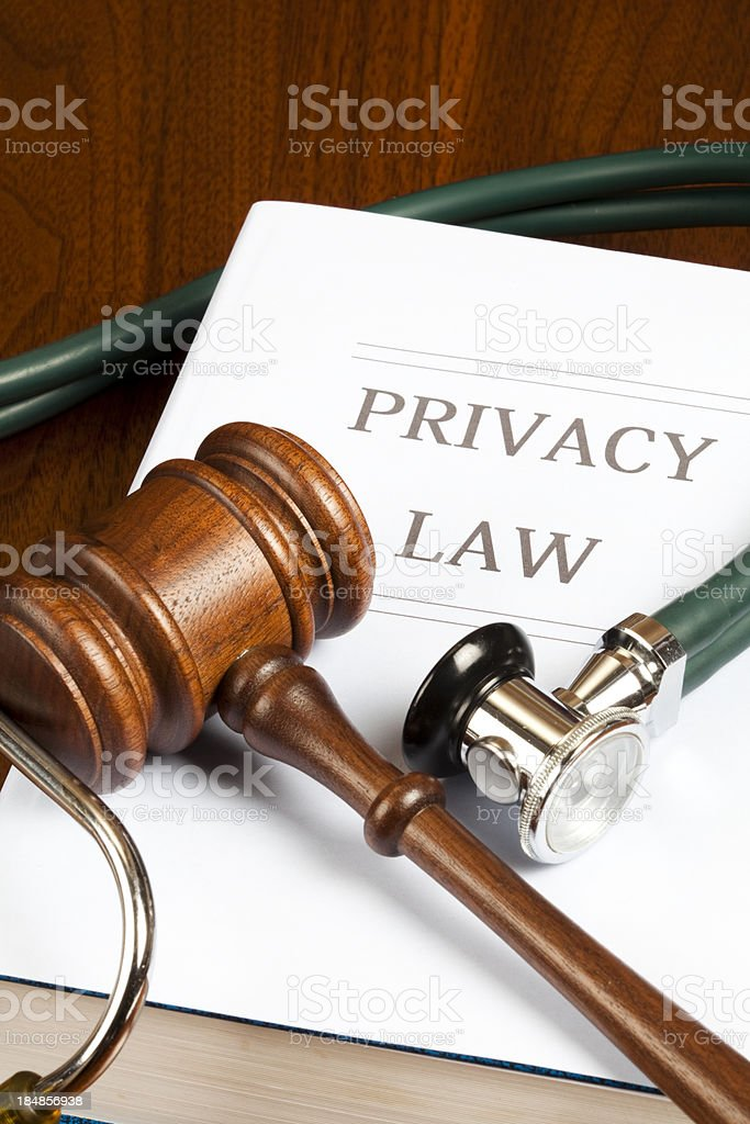 Privacy law royalty-free stock photo