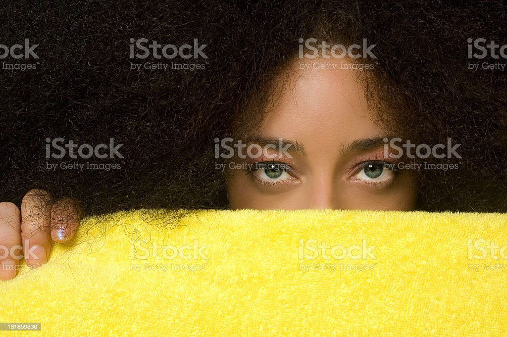 Privacy protection! royalty-free stock photo