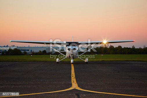 istock Private airplane 522778549