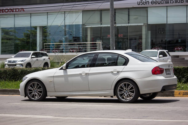 privates auto. bmw 525d. - 525d stock-fotos und bilder