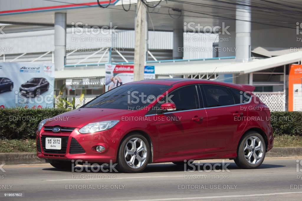Private car, Ford Focus stock photo