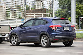 istock Private Car Honda HRV City Suv Car 990826218