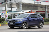 istock Private Car Honda HRV City Suv Car 990826220