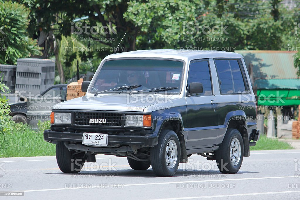 Private Car Isuzu Trooper Stock Photo More Pictures Of 2015 Istock