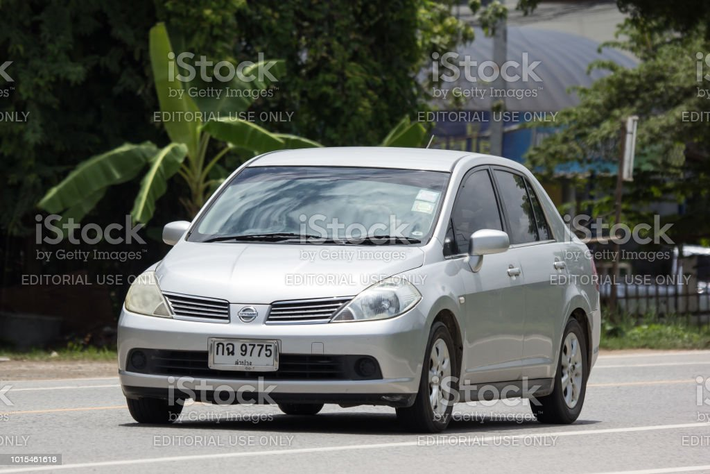 Private Car Nissan Tiida Stock Photo Download Image Now