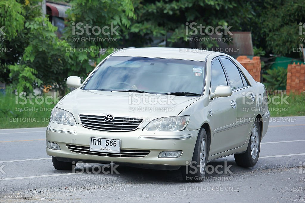 Private car, Toyota Camry. royalty-free stock photo