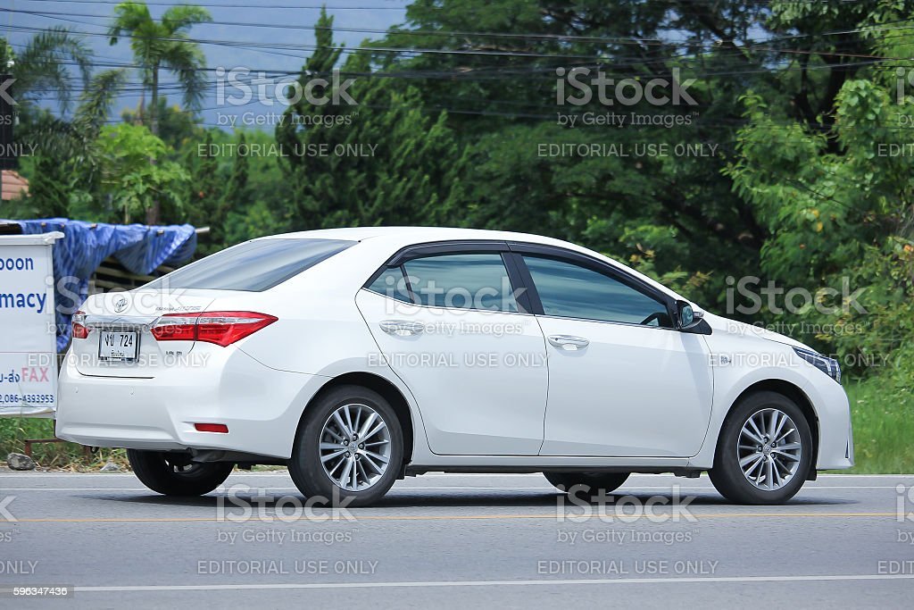 Private car, Toyota Corolla Altis. royalty-free stock photo