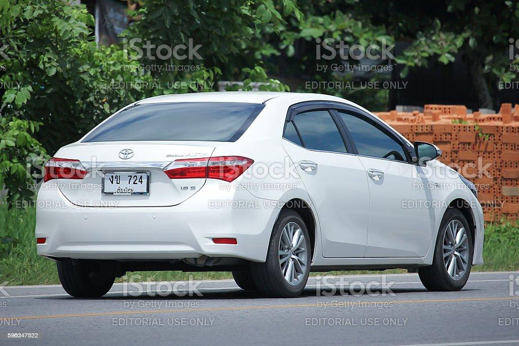 Private car, Toyota Corolla Altis. royalty-free stock photo