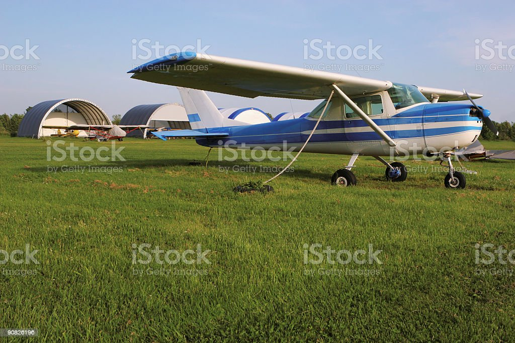 Private Cessna stock photo
