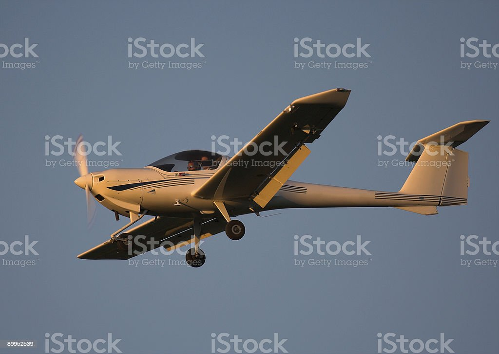 Private Civil Airplane royalty-free stock photo