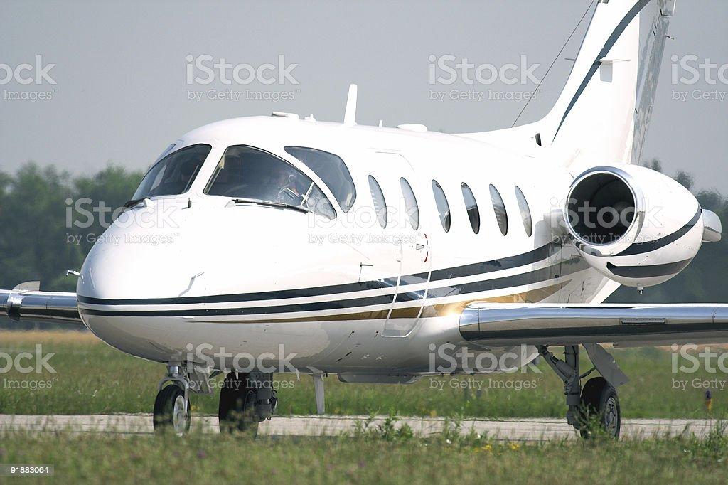 Private Corporate  Jet stock photo