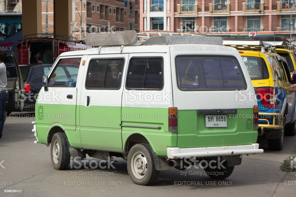 Private Daihatsu Old Van Car Stock Photo More Pictures Of Archival