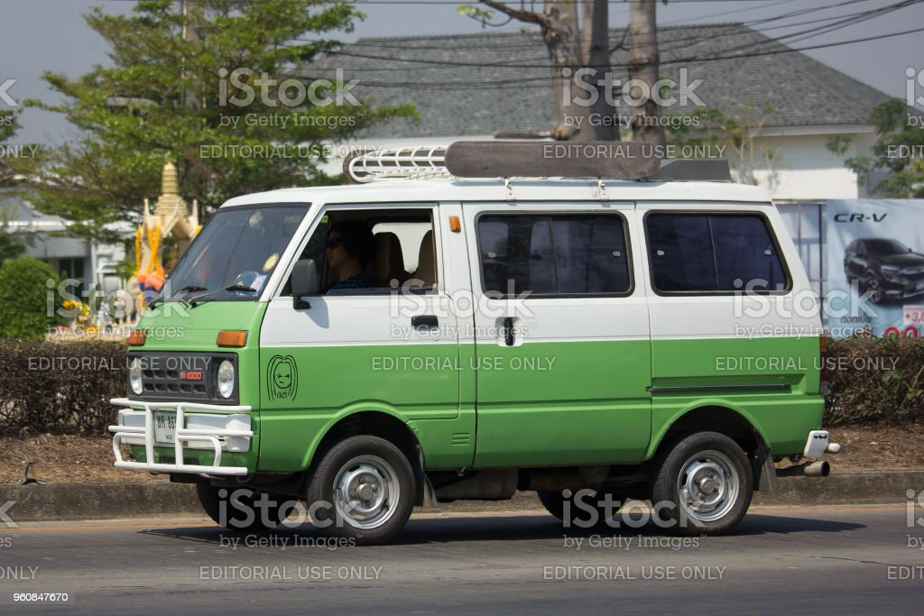 Private Daihatsu Old Van Car Stock Photo More Pictures Of Asia