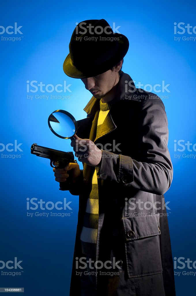 Private Detective royalty-free stock photo