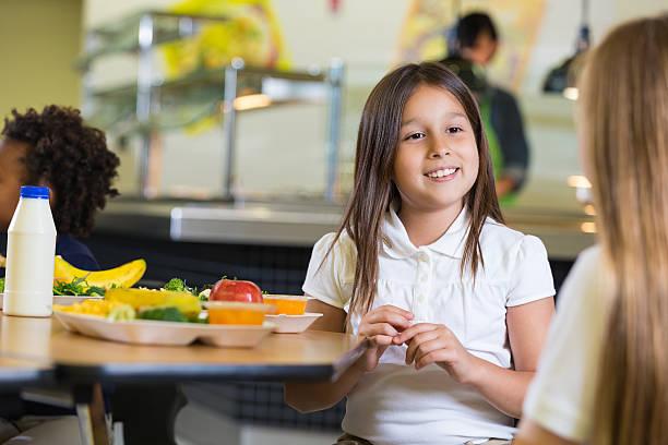 Private elementary school girls eating healthy food in cafeteria picture id498237945?b=1&k=6&m=498237945&s=612x612&w=0&h=qhhzsqsllgaetkt0rqm6cqjrgmif3hkfchgrmkimsvw=