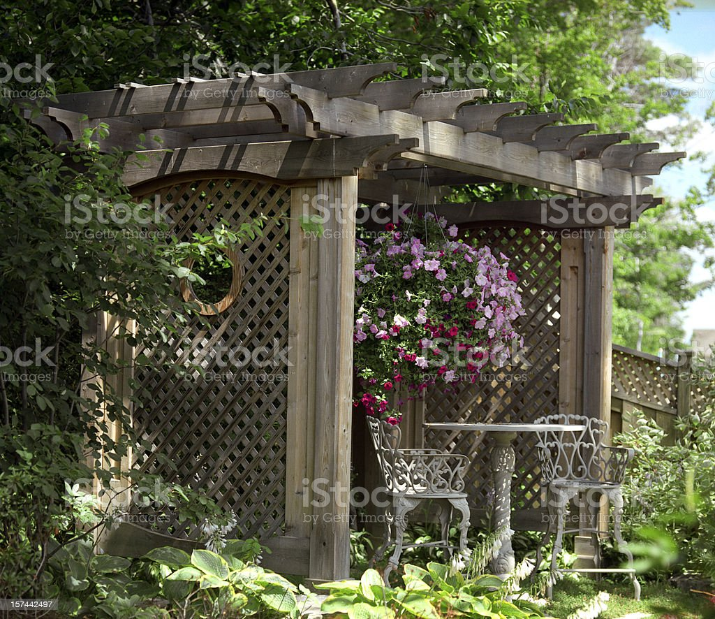 Private Garden royalty-free stock photo