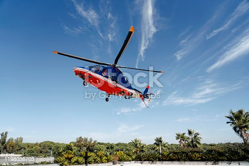 Turkey - Middle East,Helicopter, Airplane, Airport, Private Airplane, Air Vehicle, Offshore Platform, Flying,