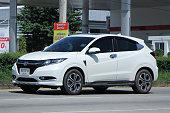 istock Private Honda HRV suv car 497001560
