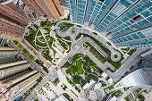 China - East Asia, Hong Kong, Aerial View, Angle, Apartment