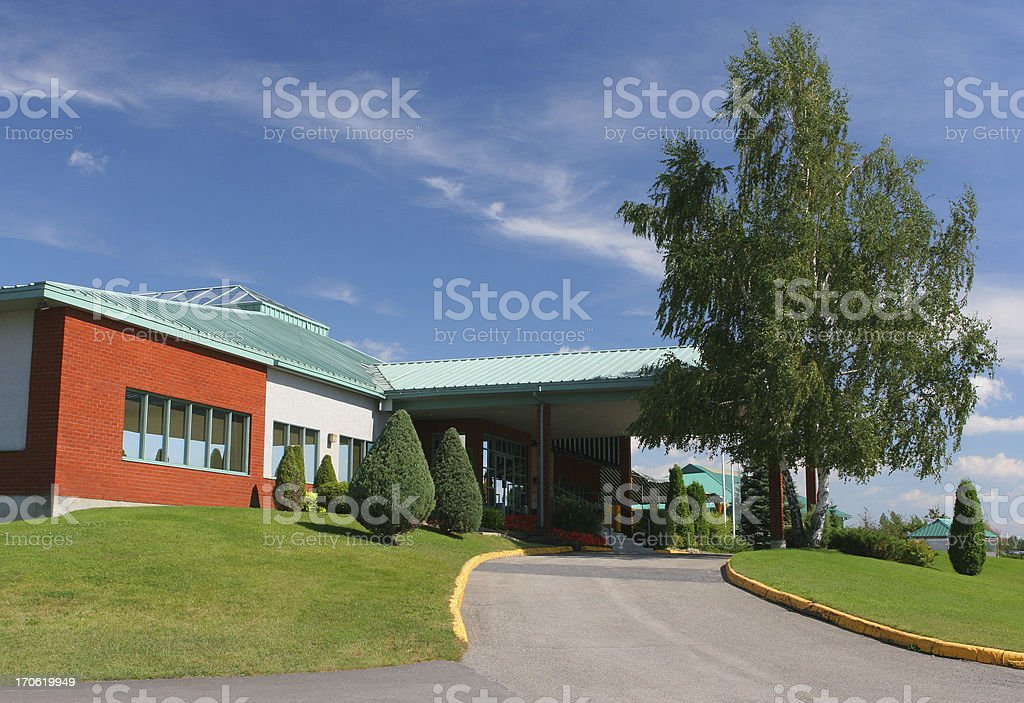 Private Institution royalty-free stock photo