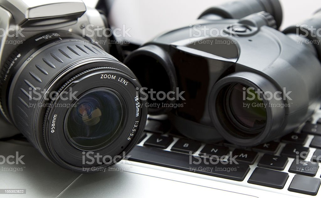 Private Investigation royalty-free stock photo