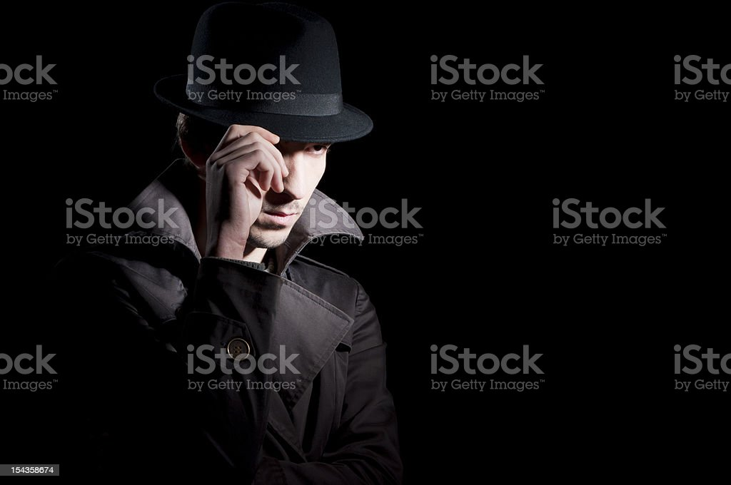 Private investigator royalty-free stock photo