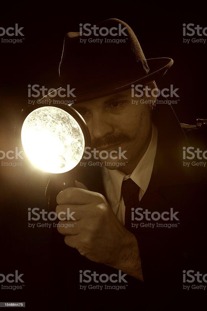 Private Investigator royalty-free stock photo