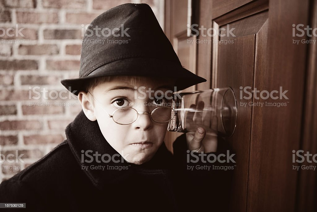 Private Investigator stock photo