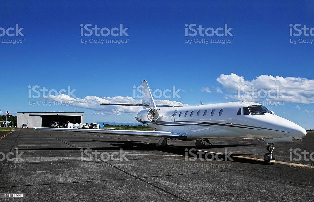 Private Jet royalty free stockfoto
