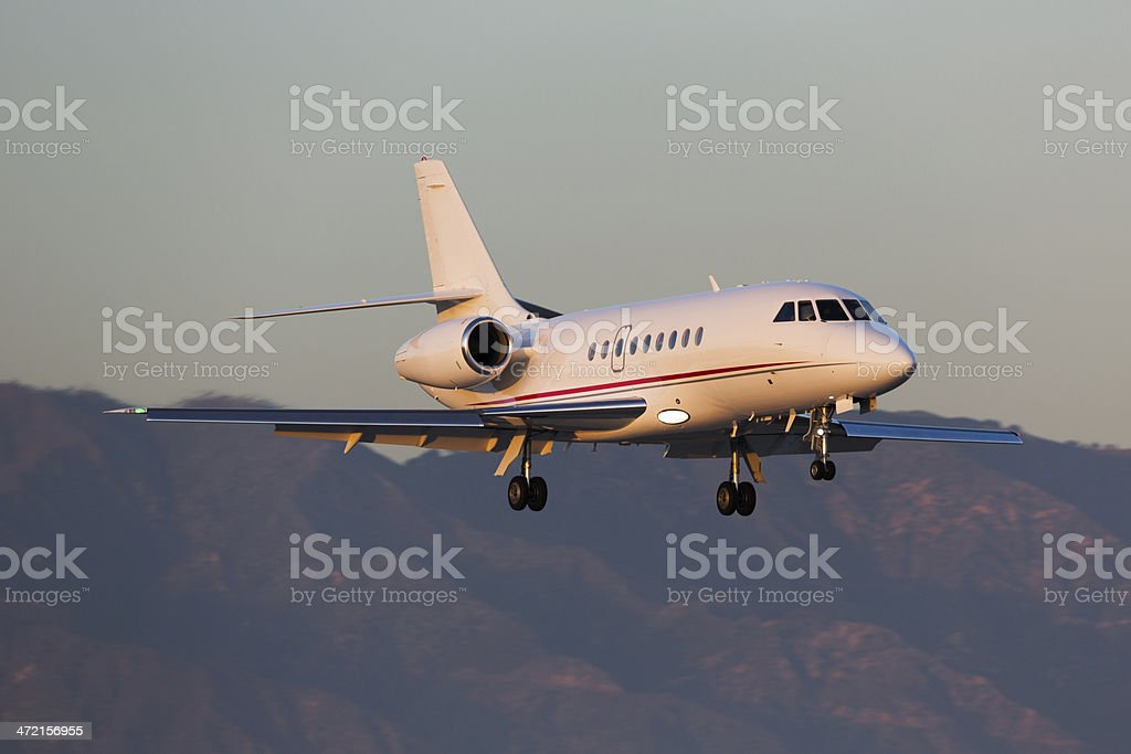 Private Jet stock photo