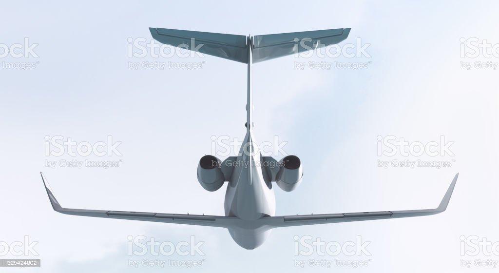 Private jet stock photo