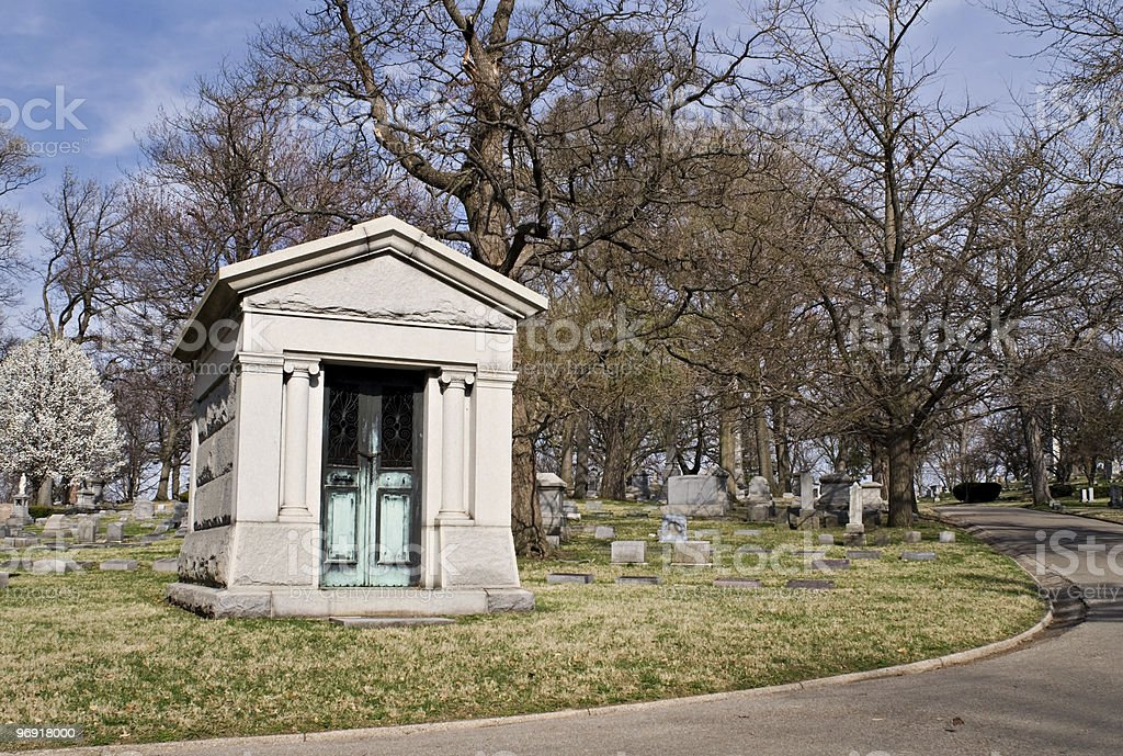 Private Mausoleum royalty-free stock photo