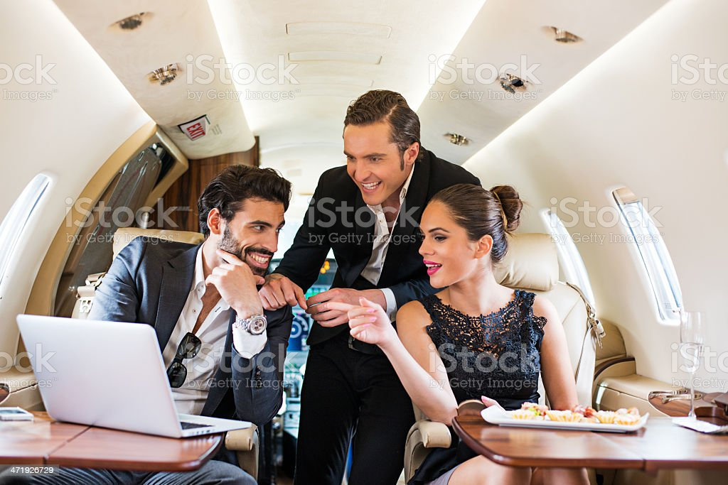 Private meeting royalty-free stock photo