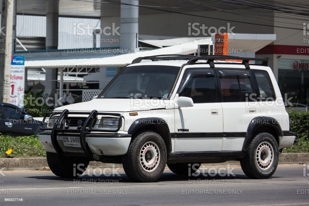 Private Mini Suv car, Suzuki Vitara. zbiór zdjęć royalty-free
