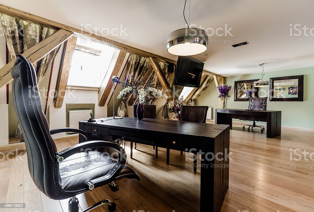 Private office stock photo