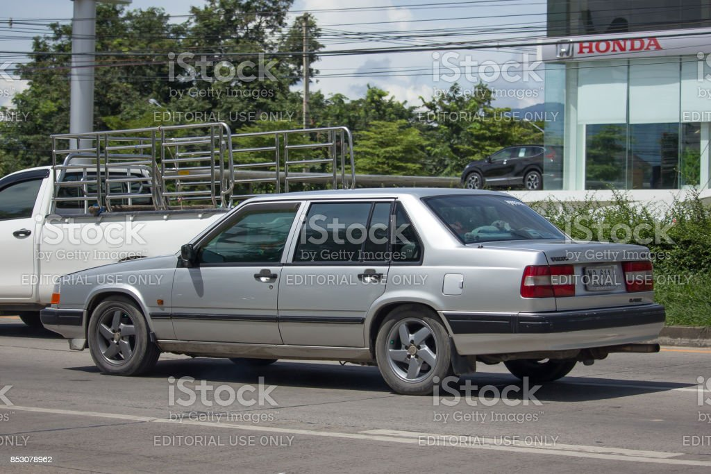 Private Old Car Volvo 740 Stock Photo Download Image Now Istock