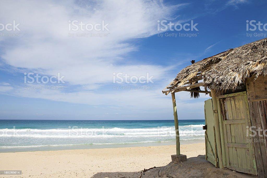 Private paradise stock photo