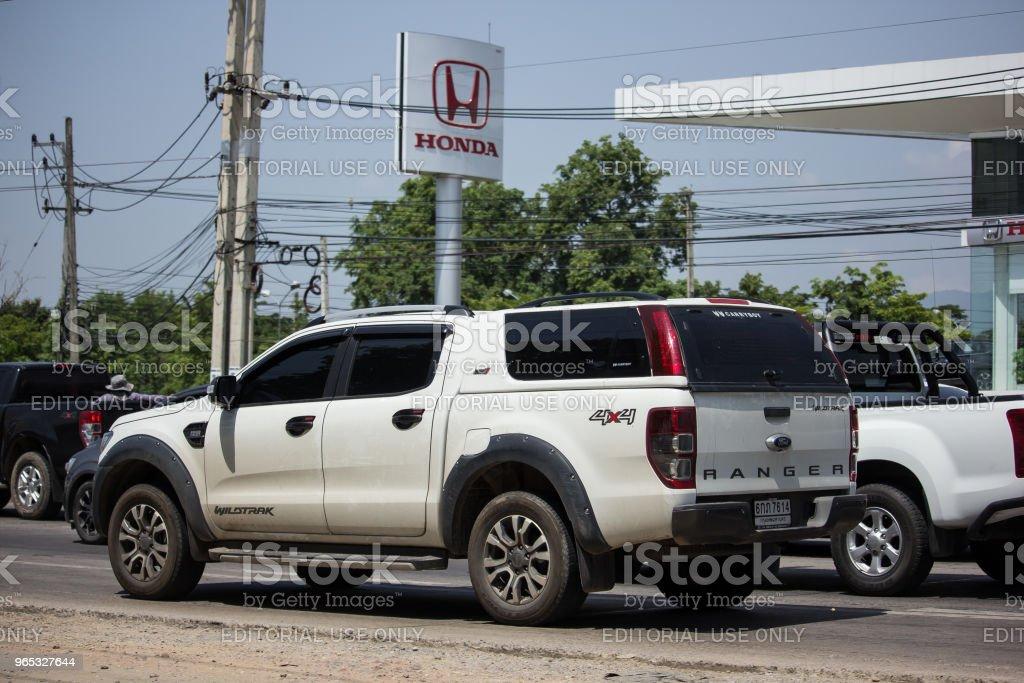 De retour de la voiture privée, ING. - Photo de Asie libre de droits