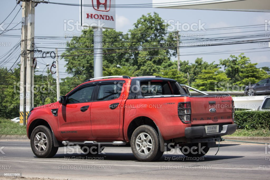 Private Pickup car, Ford Ranger. zbiór zdjęć royalty-free