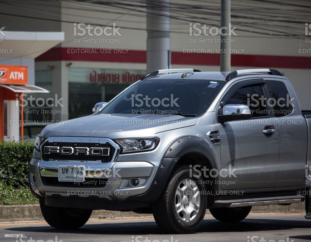 Private Pickup car, Ford Ranger. royalty-free stock photo