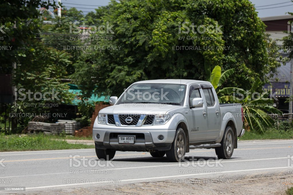 Private Pickup Car Nissan Navara Stock Photo Download