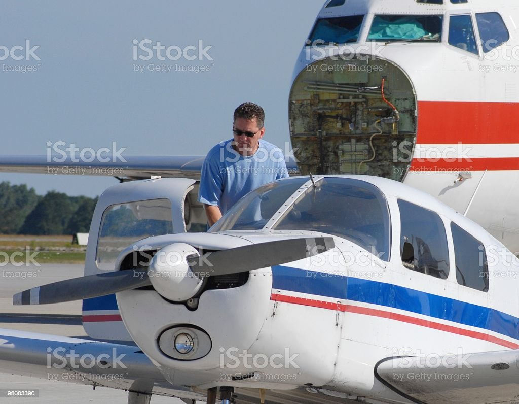 private Pilot royalty-free stock photo