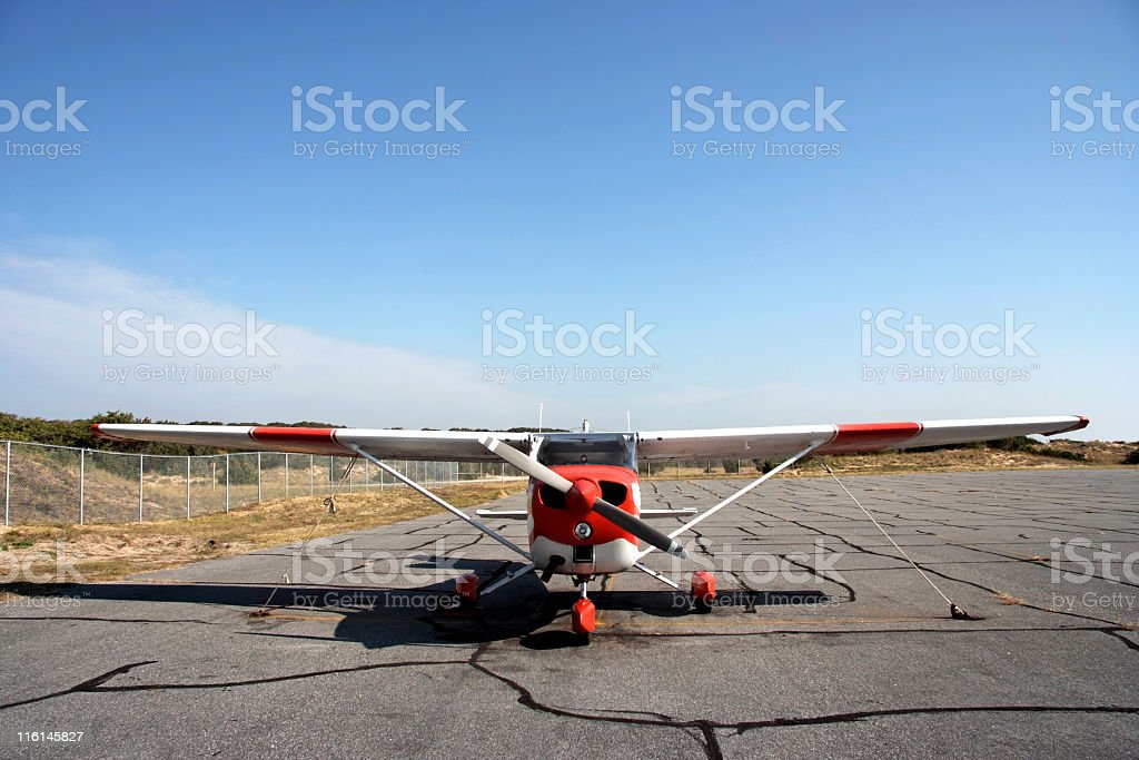 Private Plane stock photo