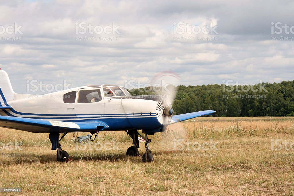 private plane royalty-free stock photo