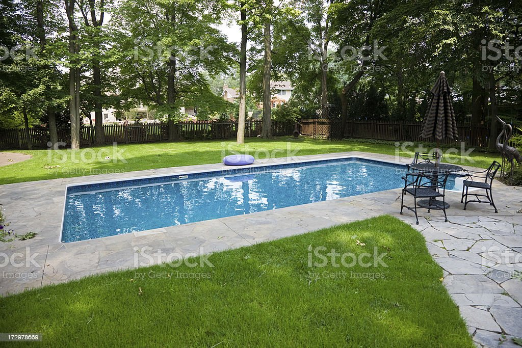 Private pool royalty-free stock photo